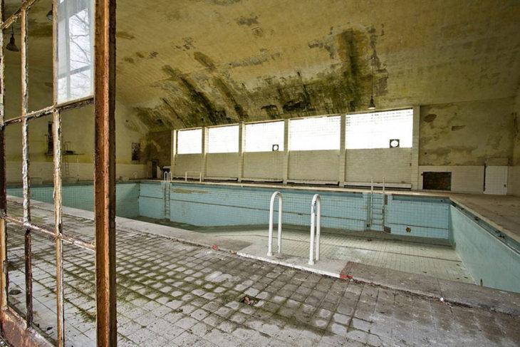villa de clavados para los nadadores