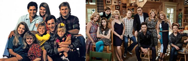 Foto del elenco de Full House y foto del elenco de Fuller House