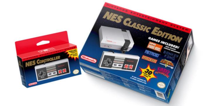 Consola de Nintendo NES clásico