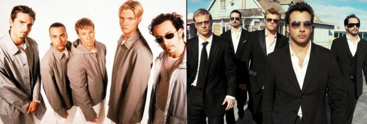 Los Backstreet Boys en los 90's y en 2016