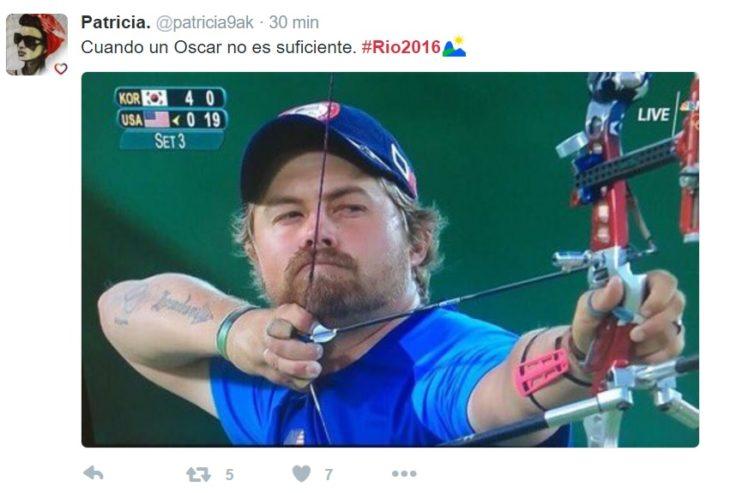 Los mejores tuits de Río 2016. CUando un oscar no es suficiente