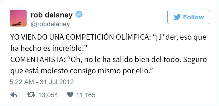Los mejores tuits de Río 2016. Eso que ha hecho está increíble