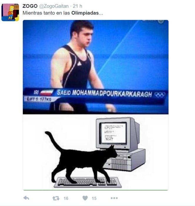 Los mejores tuits de Río 2016. Mientras tanto en las olimpiadas