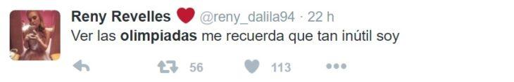 Los mejores tuits de Río 2016. Me recuerda que tan inutil soy