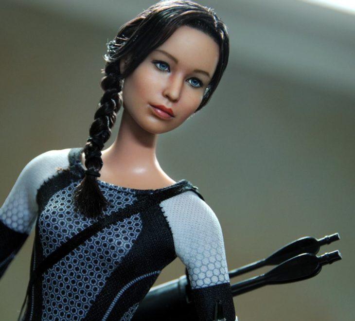 Muñecos realistas. Noel Cruz. Katniss