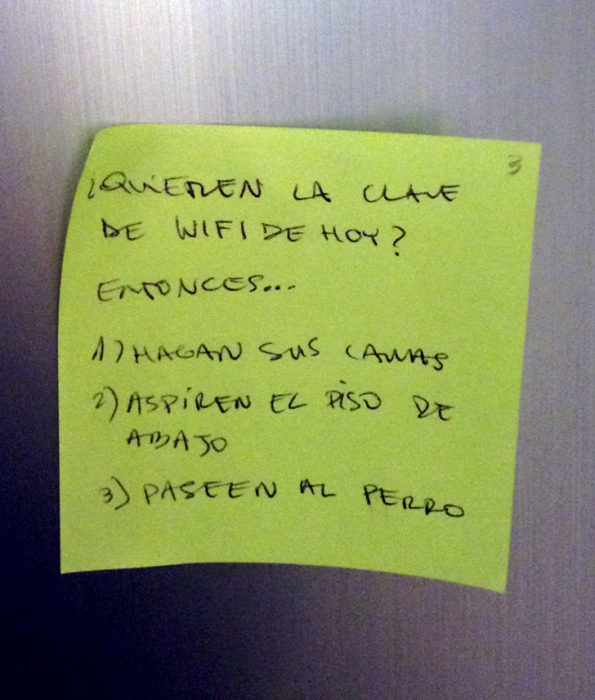 PAPA CONTRASEÑA DEL WIFI
