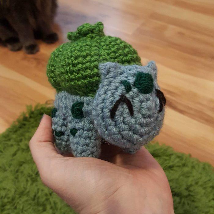 Bulbasaur en crochet