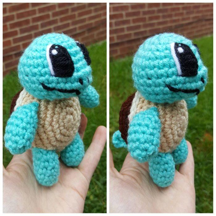 squirtle en crochet