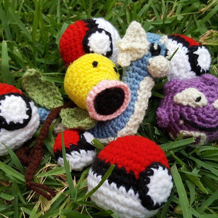 pokémones crochet