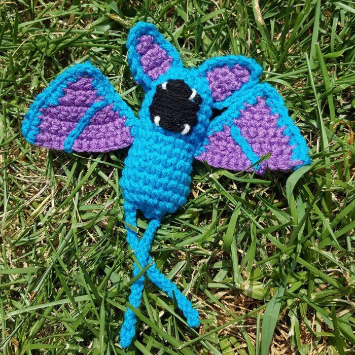 pokémon zubat en crochet