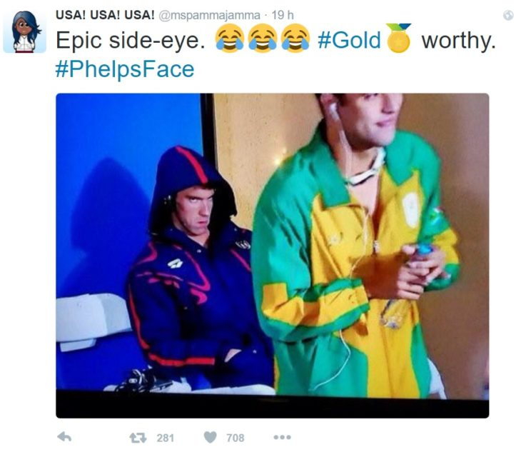 PhelpsFace epic side eye