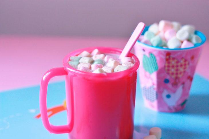 tazas con te bombones