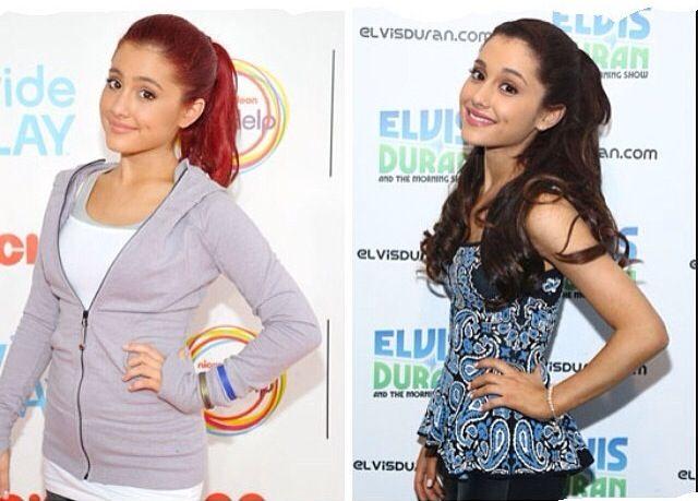 ariana grande antes y después