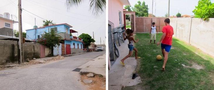 Casa exterior cubana