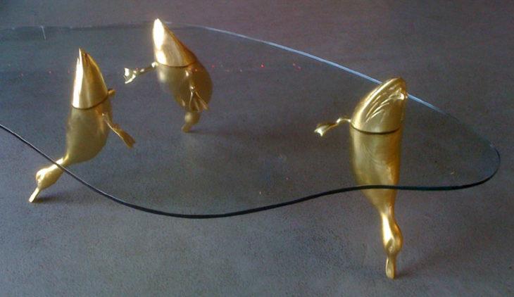 Mesas de agua de Derek Pierce