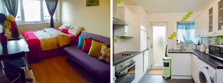 Casa interior colorido