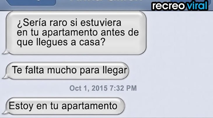 conversación apartamento