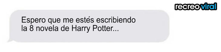 conversación harry potter