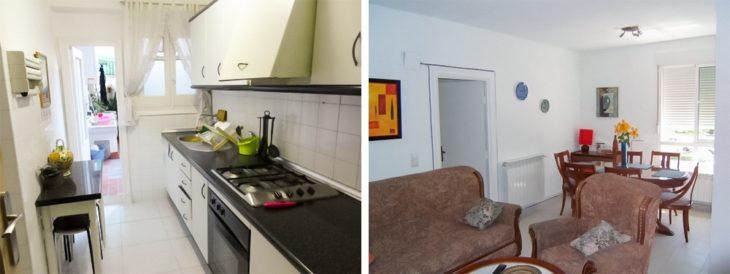 Interior de cozinha Espanha