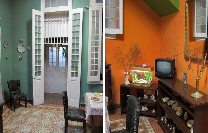 Casa dentro de Cuba