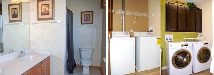 interior de casa americana