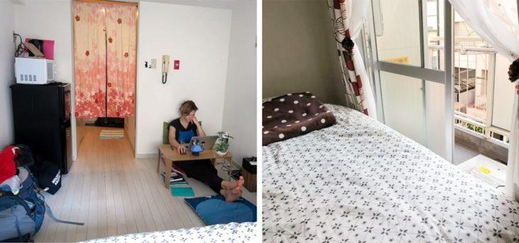 apartamento japão