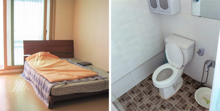 camas sul-coreanos