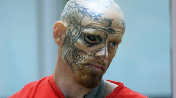 tatuajes en cara