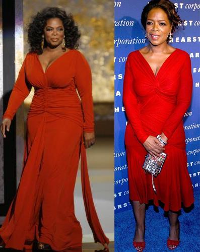 oprah winfrey antes y después
