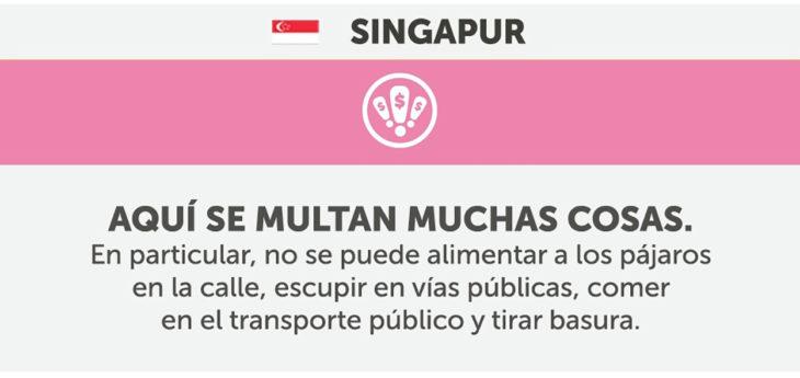 cosas que no debes hacer en singapur