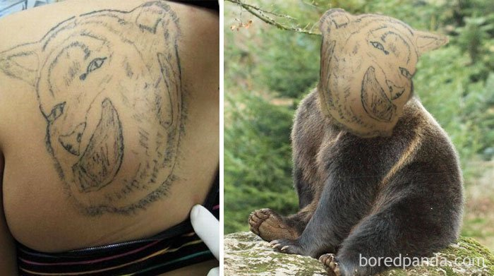 oso tatuaje