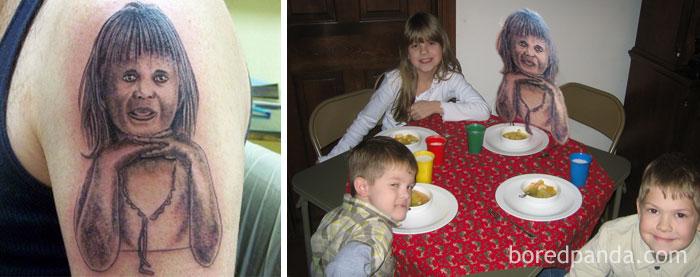 hija tatuaje