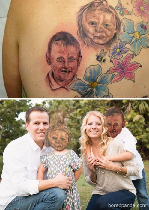 niños tatuaje