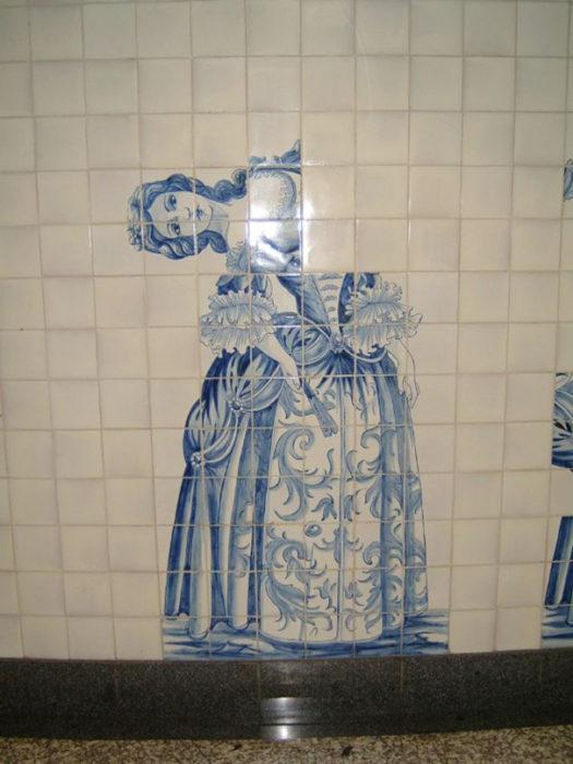 azulejos mal puestos