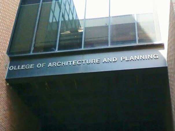 letras arquitectura y diseño
