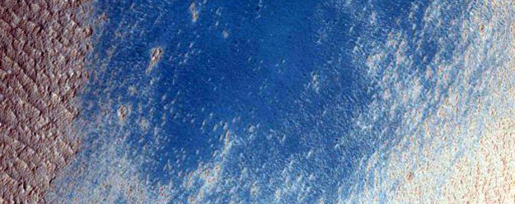terreno azul marte