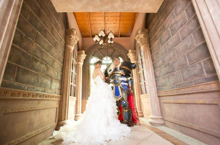 fotografía de boda warcraft