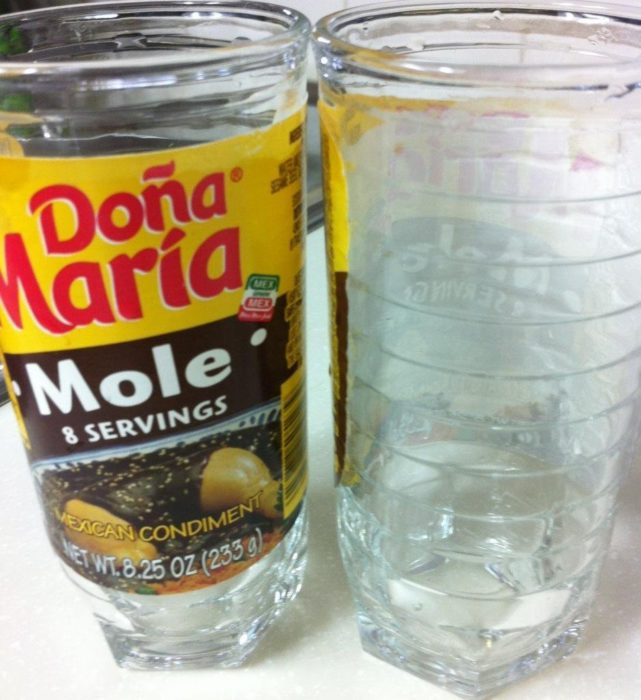 vaso de mole