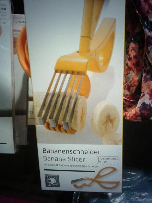cortador de banana