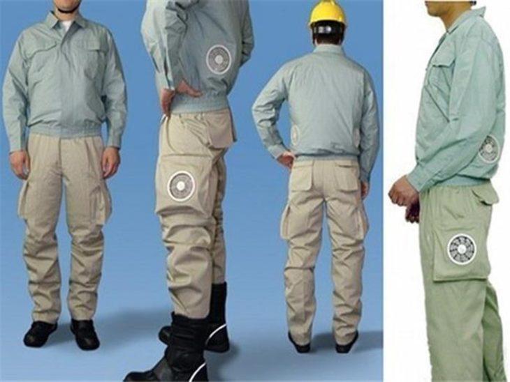 pantalones con ventilación