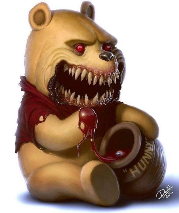 winnie pooh monstruo