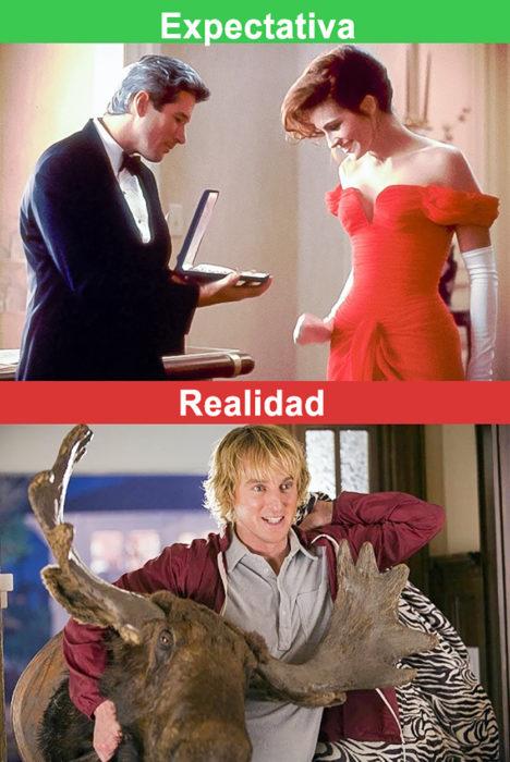 regalos de pareja expectativa vs realidad
