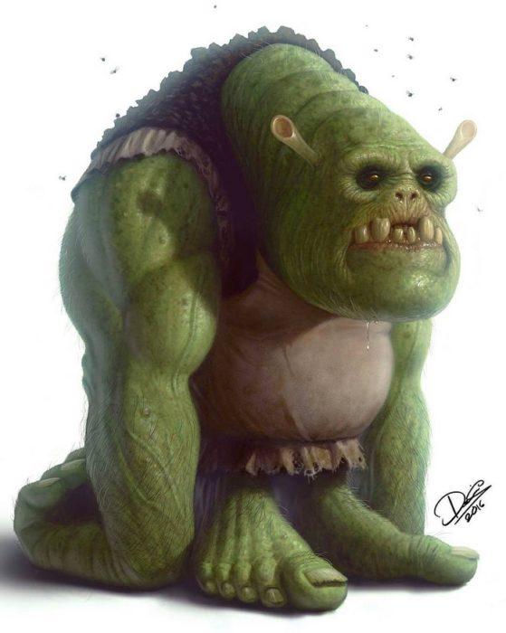 shrek monstruo