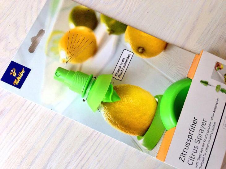 exprimidor de aerosol de cítricos