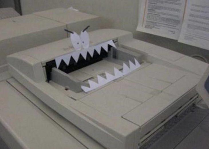 fotocopiadora graciosa