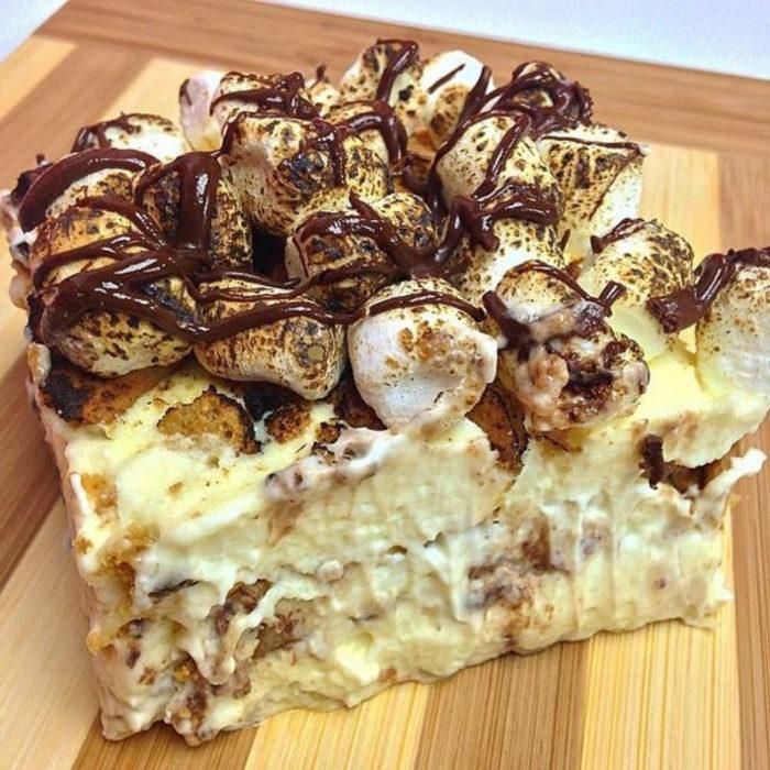 lasagna de nutella