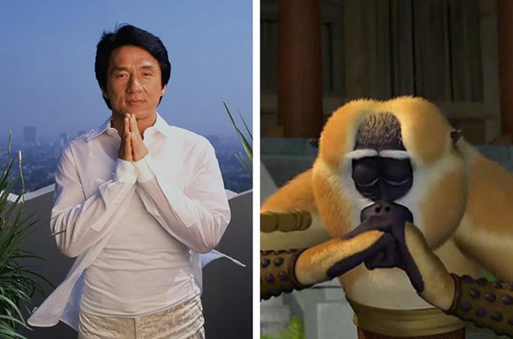 jackie chan kung fu panda