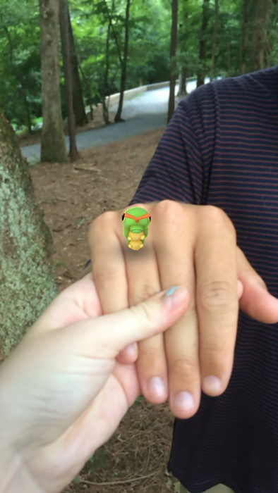 pokemón como anillo