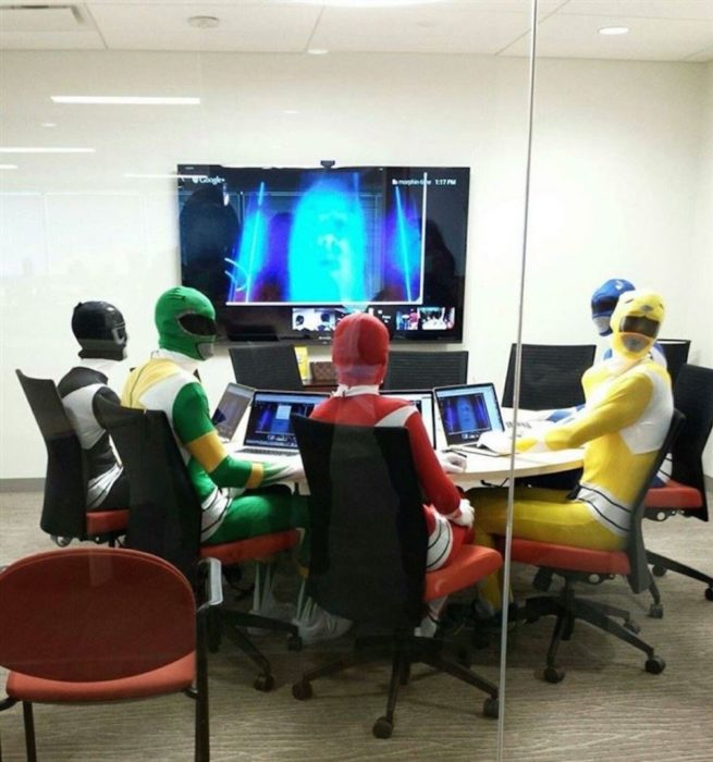 power rangers en junta