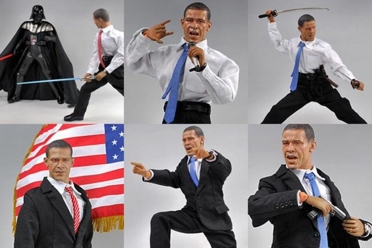 figura de acción de obama